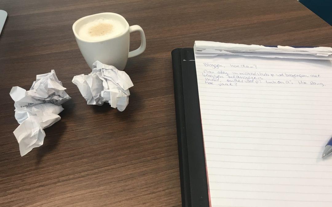 Bloggen… #Hoedan?